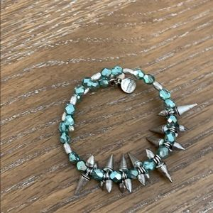 Alex and Ani spiked energy bracelet